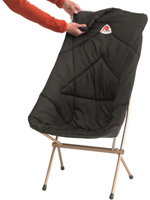 Robens Chair Insulator - Almohadas y mantas de viaje - Tall negro
